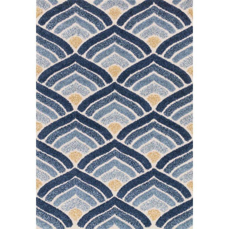 Loloi Enchant EN-18 9' x 12' Rectangle Rug in Ivory and Blue (ENCOEN-18IVBB90C0)