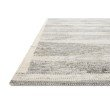 """Loloi Evelina EVE-02 Contemporary Hand Woven 9' 3"""" x 13' Rectangle Rug in Pewter and Silver (EVELEVE-02PWSI93D0)"""