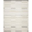 """Loloi Evelina EVE-03 Contemporary Hand Woven 3' 6"""" x 5' 6"""" Rectangle Rug in Ivory and Beige (EVELEVE-03IVBE3656)"""
