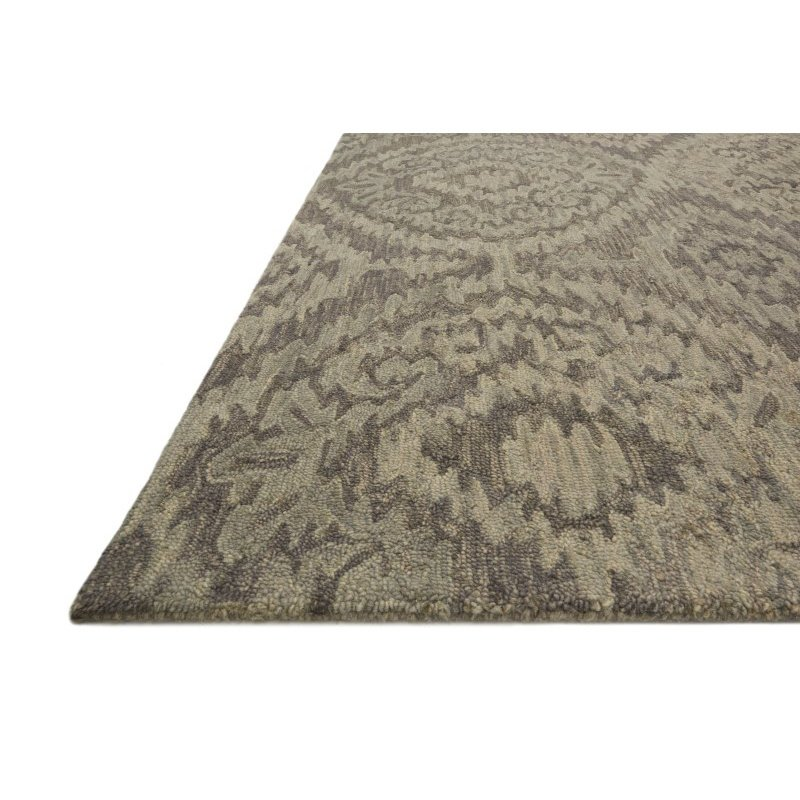 "Loloi Everson VX-01 2' 6"" x 7' 6"" Runner Rug in Grey (EVRSVX-01GY002676)"