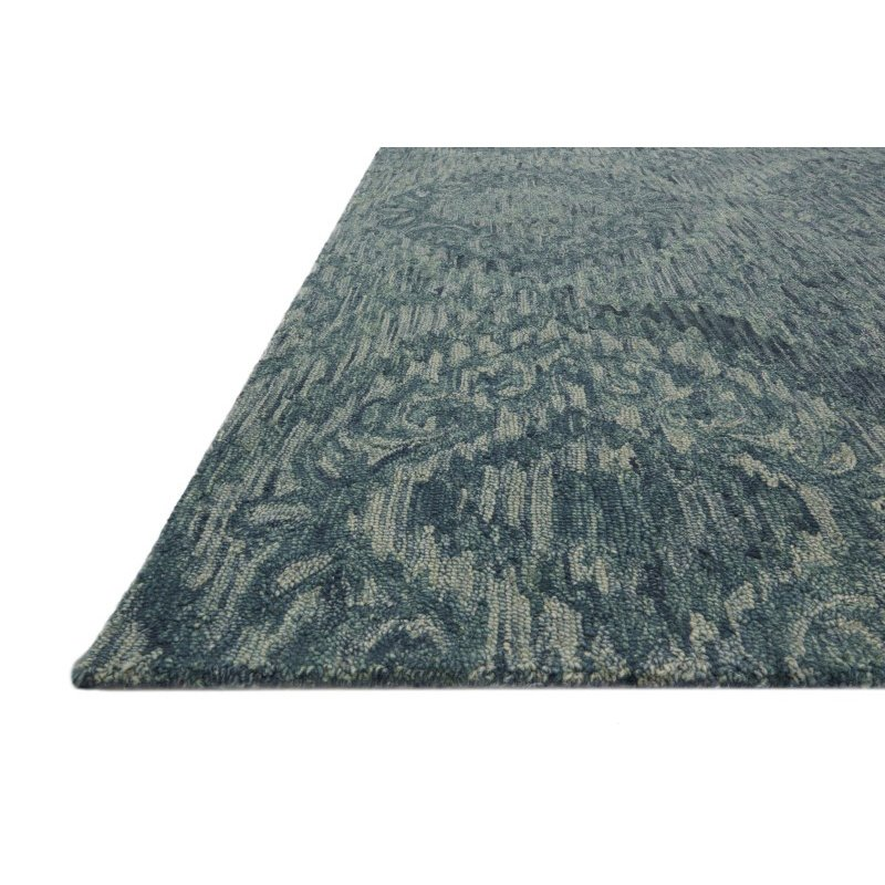 "Loloi Everson VX-01 7' 9"" x 9' 9"" Rectangle Rug in Teal (EVRSVX-01TE007999)"