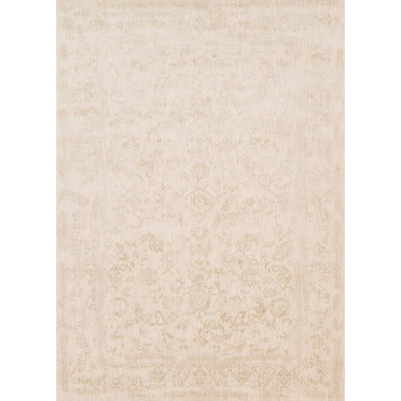 "Loloi Florence FO-01 Rug 1' 6"" x 1' 6"" Ivory and Ivory Sample Square"