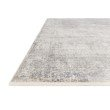 """Loloi Franca FRN-01 Transitional Power Loomed 3' 7"""" x 5' 8"""" Rectangle Rug in Silver and Pebble (FNCAFRN-01SIPP3758)"""