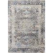"Loloi Franca FRN-03 Transitional Power Loomed 2' 7"" x 8' Runner Rug in Charcoal and Sky (FNCAFRN-03CCSC2780)"