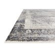 """Loloi Franca FRN-03 Transitional Power Loomed 2' 7"""" x 9' 6"""" Runner Rug in Charcoal and Sky (FNCAFRN-03CCSC2796)"""