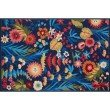 """Loloi Francesca FC-60 Transitional Hand-Made Rectangle Rug 2' 3"""" x 3' 9"""" in Navy and Fiesta (FRACFC-60NVFD2339)"""