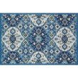 """Loloi Francesca FC-62 Transitional Hand-Made Rectangle Rug 3' 6"""" x 5' 6"""" in Blue and Ivory (FRACFC-62BBIV3656)"""