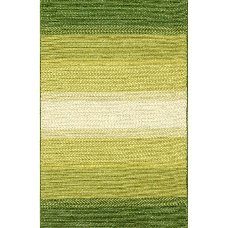 "Loloi Garrett GA-03 Rug 5' x 7' 6"" Green Rectangle"