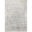 "Loloi Gemma GEM-01 Traditional Power Loomed 3' 7"" x 5' Rectangle Rug in Silver and Multi (GEMAGEM-01SIML3750)"