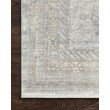 """Loloi Gemma GEM-01 Traditional Power Loomed 7' 7"""" x 9' 10"""" Rectangle Rug in Silver and Multi (GEMAGEM-01SIML779A)"""
