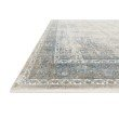 """Loloi Gemma GEM-02 Traditional Power Loomed 7' 7"""" x 9' 10"""" Rectangle Rug in Sky and Ivory (GEMAGEM-02SCIV779A)"""