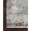 """Loloi Gemma GEM-04 Traditional Power Loomed 2' 8"""" x 10' Runner Rug in Charcoal and Multi (GEMAGEM-04CCML28A0)"""