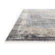 "Loloi Gemma GEM-04 Traditional Power Loomed 2' 8"" x 7' 9"" Runner Rug in Charcoal and Multi (GEMAGEM-04CCML2879)"