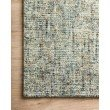 Loloi Harlow HLO-01 Contemporary Hand Tufted 12' x 15' Rectangle Rug in Ocean and Sand (HLOWHLO-01OCSAC0F0)
