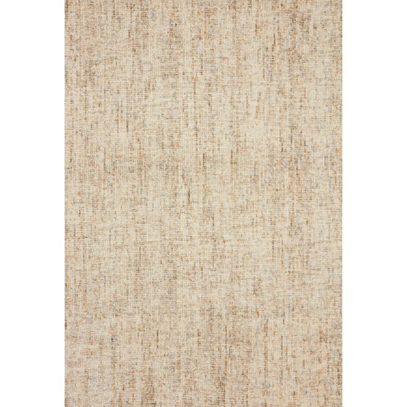 """Loloi Harlow HLO-01 Contemporary Hand Tufted 8' 6"""" x 12' Rectangle Rug in Sand and Stone (HLOWHLO-01SASN86C0)"""