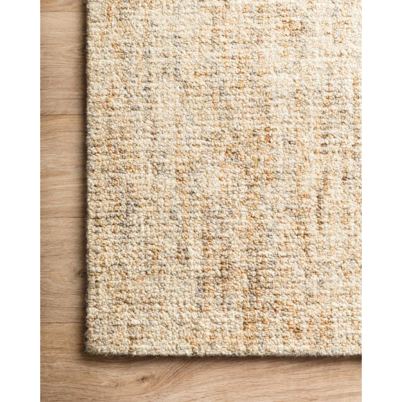 "Loloi Harlow HLO-01 Contemporary Hand Tufted 9' 3"" x 13' Rectangle Rug in Sand and Stone (HLOWHLO-01SASN93D0)"
