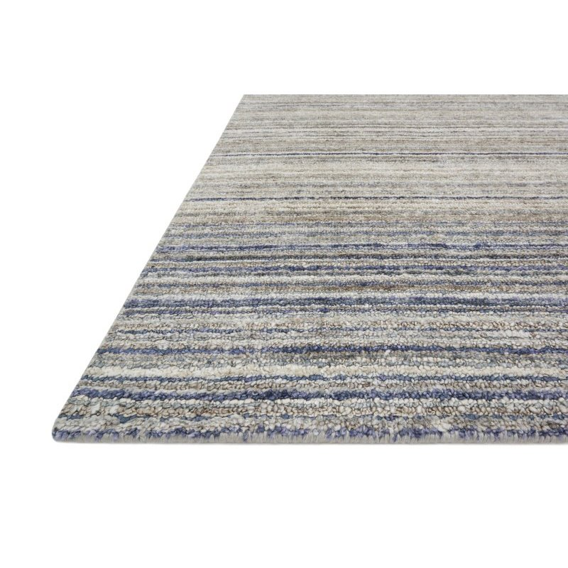 """Loloi Haven VH-01 7' 9"""" x 9' 9"""" Rectangle Rug in Silver and Blue (HAVEVH-01SIBB7999)"""