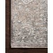 "Loloi Homage HOM-03 Transitional Power Loomed 5' 3"" x 7' 6"" Rectangle Rug in Stone and Ivory (HOMAHOM-03SNIV5376)"