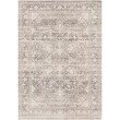 "Loloi Homage HOM-04 Transitional Power Loomed 5' 3"" x 7' 6"" Rectangle Rug in Ivory and Grey (HOMAHOM-04IVGY5376)"