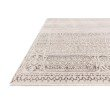 """Loloi Homage HOM-05 Transitional Power Loomed 2' 6"""" x 8' Runner Rug in Ivory and Silver (HOMAHOM-05IVSI2680)"""