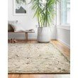 "Loloi II Beatty BEA-03 1' 6"" x 1' 6"" Sample Swatch Square Rug in Grey and Multi (BEATBEA-03GYML160S)"