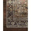 """Loloi II Layla LAY-03 1' 6"""" x 1' 6"""" Sample Swatch Square Rug in Olive and Charcoal (LAYLLAY-03OLCC160S)"""