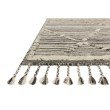 """Loloi Iman IMA-01 Contemporary Hand Knotted 8' 6"""" x 11' 6"""" Rectangle Rug in Ivory and Charcoal (IMANIMA-01IVCC86B6)"""