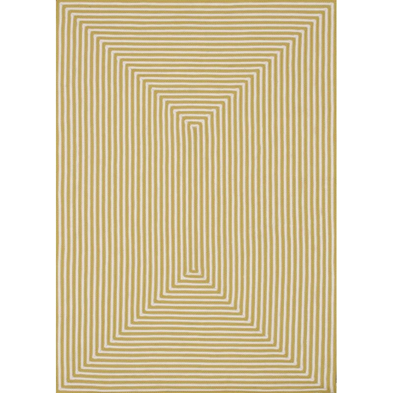 "Loloi In/Out IO-01 Rug 5' x 7' 6"" Yellow Rectangle"