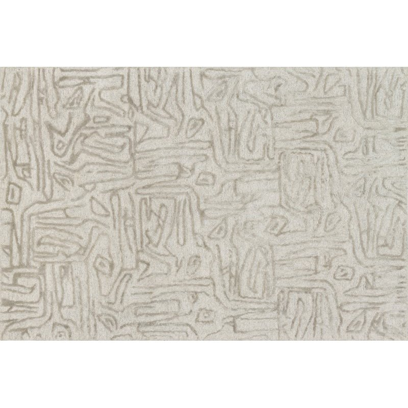 "Loloi Juneau JY-06 Contemporary Rectangle Rug 7' 9"" x 9' 9"" in Silver and Silver (JUNEJY-06SISI7999)"