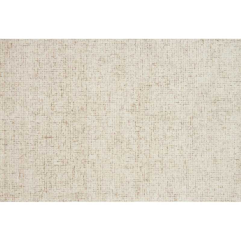 """Loloi Klein KL-02 1' 6"""" x 1' 6"""" Square Rug in Ivory and Natural (KLEIKL-02IVNA160S)"""
