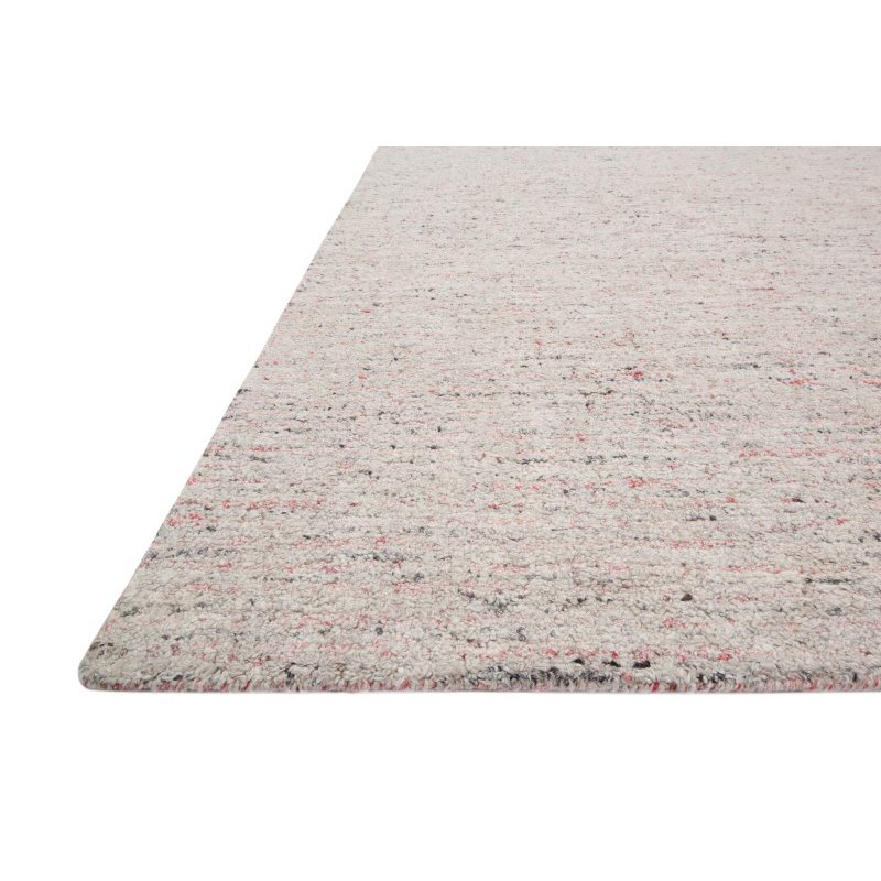 "Loloi Klein KL-03 5' x 7' 6"" Rectangle Rug in Grey and Coral (KLEIKL-03GYCO5076)"