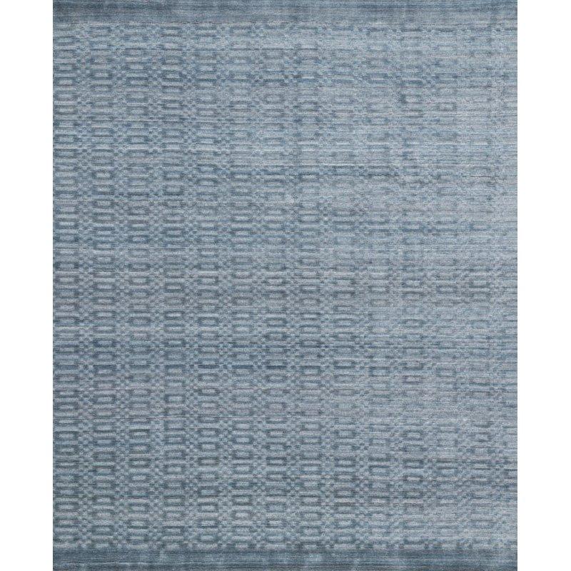 "Loloi Lennon LEN-01 Contemporary Hand Loomed 11' 6"" x 15' Rectangle Rug in Ocean (LENNLEN-01OC00B6F0)"