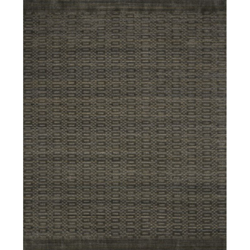 "Loloi Lennon LEN-01 Contemporary Hand Loomed 7' 9"" x 9' 9"" Rectangle Rug in Tobacco (LENNLEN-01TO007999)"