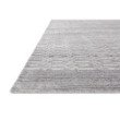 "Loloi Lennon LEN-01 Contemporary Hand Loomed 9' 6"" x 13' 6"" Rectangle Rug in Silver (LENNLEN-01SI0096D6)"
