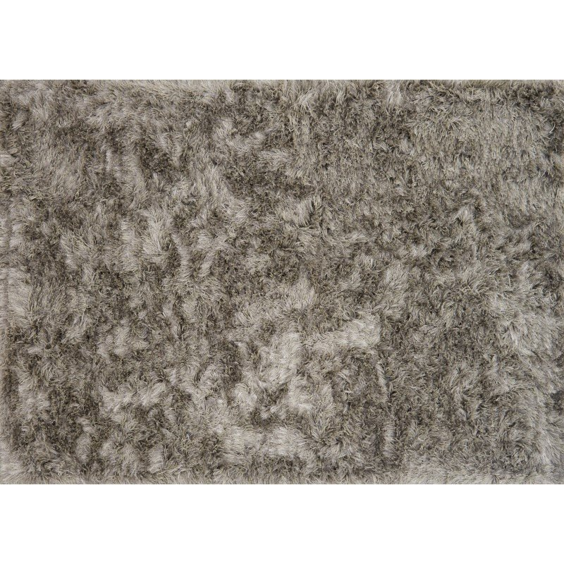 """Loloi London Shag LJ-01 3' 6"""" x 5' 6"""" Rectangle Rug in Taupe and Ivory (LONDLJ-01TAIV3656)"""