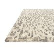 "Loloi Masai MAS-02 Contemporary Hooked 2' 6"" x 7' 6"" Runner Rug in Grey and Ivory (MASAMAS-02GYIV2676)"