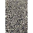 "Loloi Masai MAS-02 Contemporary Hooked 5' x 7' 6"" Rectangle Rug in Black and Ivory (MASAMAS-02BLIV5076)"