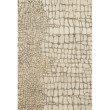 "Loloi Masai MAS-03 Contemporary Hooked 2' 6"" x 7' 6"" Runner Rug in Neutral (MASAMAS-03NT002676)"