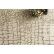 "Loloi Masai MAS-03 Contemporary Hooked 5' x 7' 6"" Rectangle Rug in Neutral (MASAMAS-03NT005076)"