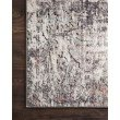 "Loloi Medusa MED-01 Contemporary Power Loomed 7' 10"" x 10' 6"" Rectangle Rug in Ivory and Granite (MEDUMED-01IVGN7AA6)"