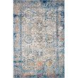 "Loloi Medusa MED-04 Contemporary Power Loomed 7' 10"" x 10' 6"" Rectangle Rug in Blue and Multi (MEDUMED-04BBML7AA6)"