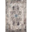 """Loloi Medusa MED-05 Contemporary Power Loomed 2' 4"""" x 4' Rectangle Rug in Natural and Stone (MEDUMED-05NASN2440)"""