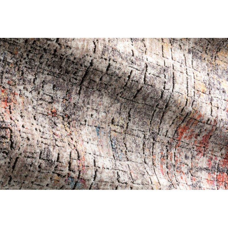 "Loloi Medusa MED-07 Contemporary Power Loomed 6' x 8' 8"" Rectangle Rug in Graphite and Sunset (MEDUMED-07GTSS6088)"