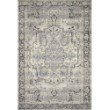 """Loloi Mika MIK-01 Indoor/Outdoor Power Loomed 2' 5"""" x 4' Rectangle Rug in Grey and Blue (MIKAMIK-01GYBB2540)"""