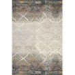 """Loloi Mika MIK-02 Indoor/Outdoor Power Loomed 10' 6"""" x 13' 9"""" Rectangle Rug in Ivory and Mediterranean (MIKAMIK-02IVMYA6D9)"""
