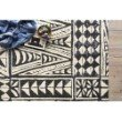 """Loloi Mika MIK-03 Indoor/Outdoor Power Loomed 2' 5"""" x 11' 2"""" Runner Rug in Ivory and Black (MIKAMIK-03IVBL25B2)"""