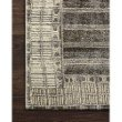 """Loloi Mika MIK-07 Indoor/Outdoor Power Loomed 2' 5"""" x 11' 2"""" Runner Rug in Charcoal and Ivory (MIKAMIK-07CCIV25B2)"""