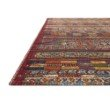 """Loloi Mika MIK-09 Indoor/Outdoor Power Loomed 7' 10"""" x 11' 2"""" Rectangle Rug in Red and Multi (MIKAMIK-09REML7AB2)"""