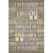 "Loloi Mika MIK-10 Indoor/Outdoor Power Loomed 3' 11"" x 5' 11"" Rectangle Rug in Granite and Multi (MIKAMIK-10GNML3B5B)"
