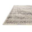 """Loloi Mika MIK-12 Indoor/Outdoor Power Loomed 10' 6"""" x 13' 9"""" Rectangle Rug in Stone and Ivory (MIKAMIK-12SNIVA6D9)"""